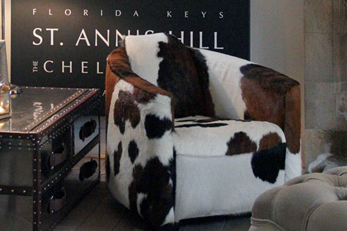 Genuine Cowhide Chairs Make Re-Inventing Your Interiors Easy