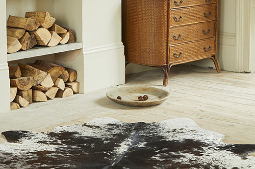 Decorating With Classy, Timeless Cowhide Rugs