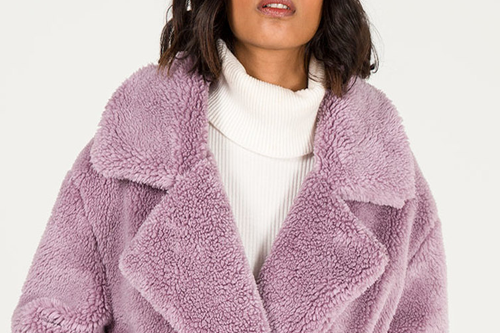 Rock a Teddy Coat Wherever you go This Season