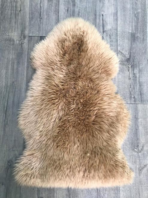 Caramel Single Sheepskin Rug