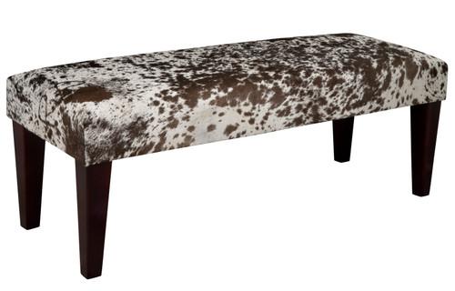 4ft x 1.5ft Cowhide Footstool / Ottoman FST614