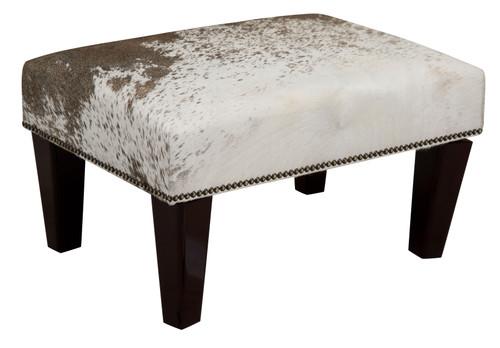 2ft x 1.5ft Cowhide Footstool / Ottoman FST601
