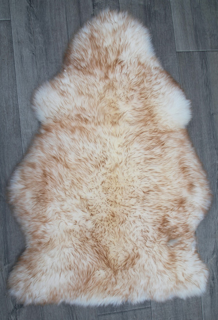 Cappuccino Single Sheepskin Rug