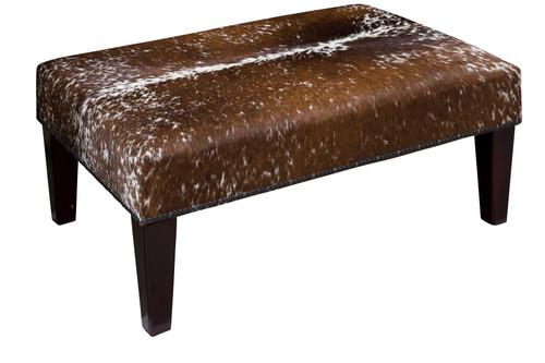3ft x 2ft Cowhide Footstool / Ottoman FST981