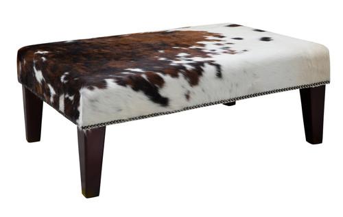 3ft x 2ft Cowhide Footstool / Ottoman FST720