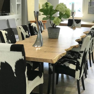 Cowhide Dining Chairs