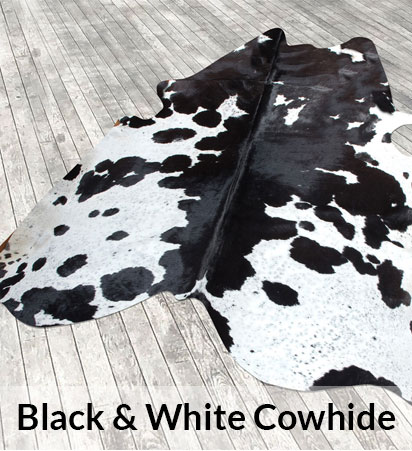 Black & White Cowhides