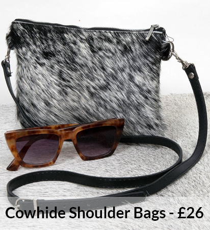 Cowhide Shoulder Bags