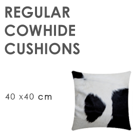 Regular Cowhide Cushions