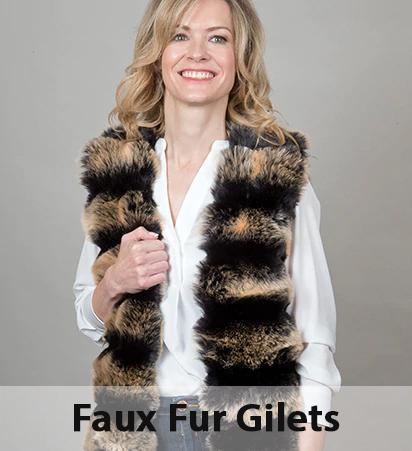 Faux Fur Gilets