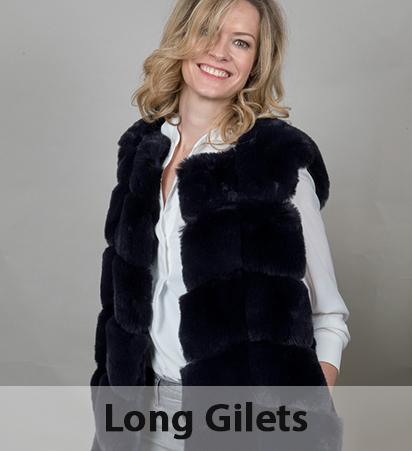 Long Fur Gilets