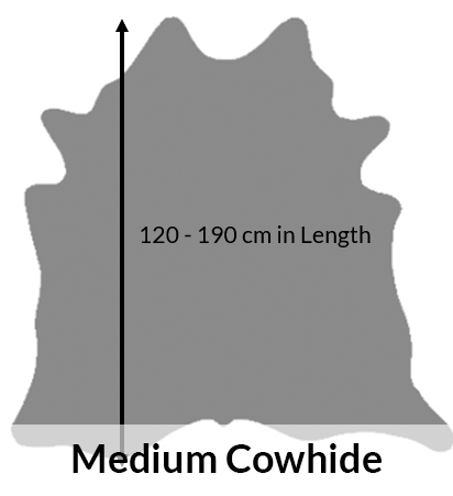 medium cowhides