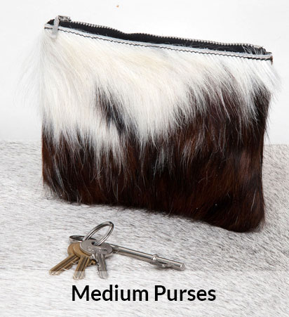 Medium Cowhide Purses