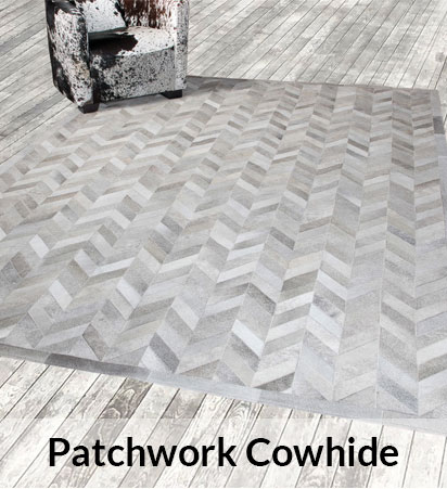 Patchwork Cowhides