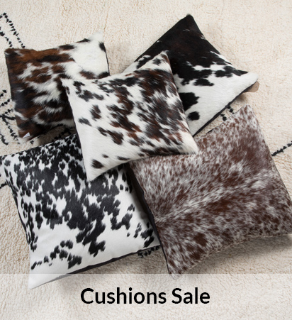 Sale Cowhide Cushions