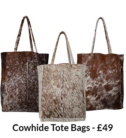 Cowhide Tote Bags
