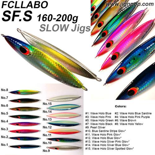 FCLLABO SFS Slow Jig (160~200g)