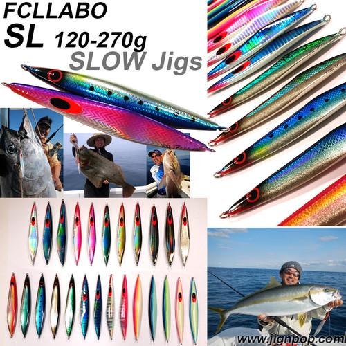 FCLLABO SL Slow Jig (120~270g)