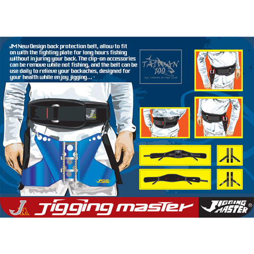 Jigging Master Premium Fighting Belt