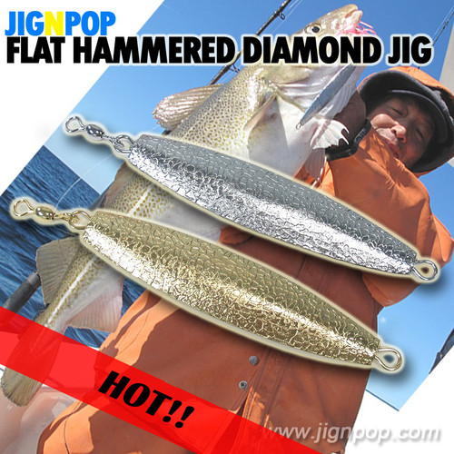JIGNPOP Flat Hammered Diamond Jig