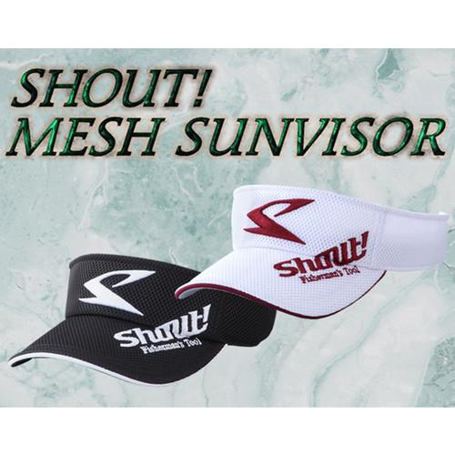 SHOUT Mesh Sunvisor