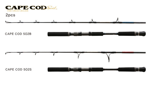 Black Hole USA Cape Cod Special 502 2pc Jigging Rod