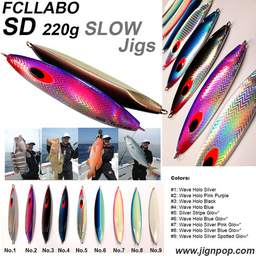 FCLLABO SD Slow Jig (200g)
