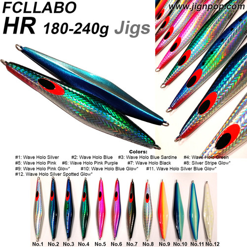 FCLLABO HR Jig (180~240g)
