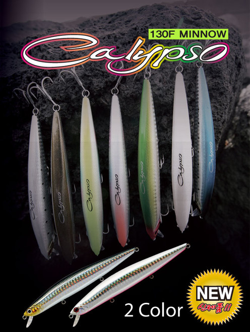 N.S Calypso Minnow 130F (Floating) Lure