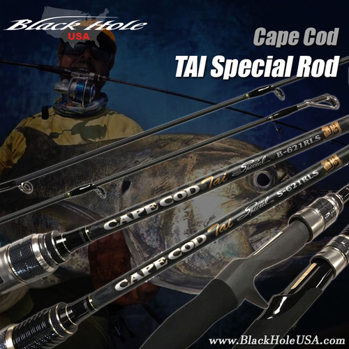 Black Hole Cape Cod TAI (Snapper) Special Rod - Ultra Light Conventional & Spinning
