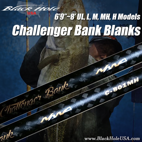 "Black Hole Challenger Bank Blanks (6'9""~8')"