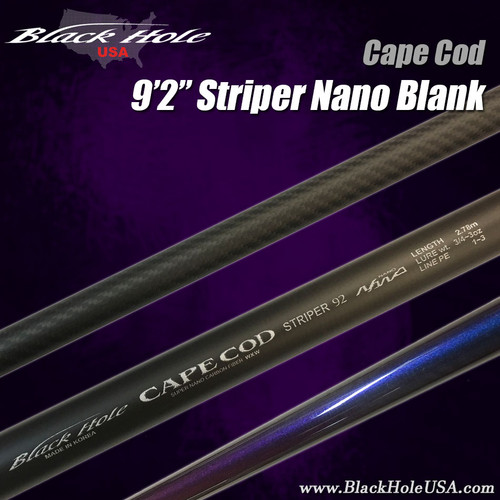 "Black Hole USA 9'2"", 9'6"" Striper Surf Blanks"