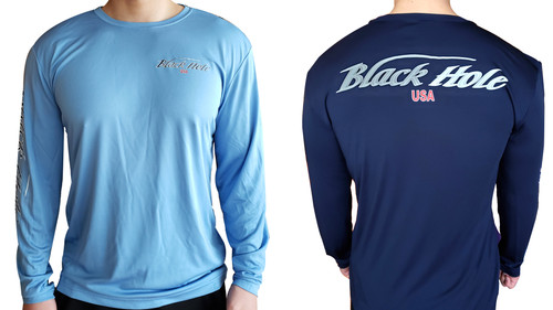 Black Hole USA Long Sleeve Shirt