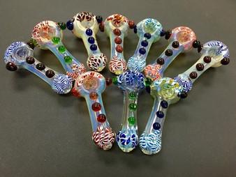Glass pipe 3 dot
