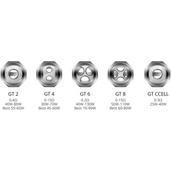 Vaporesso Gt replacement coils