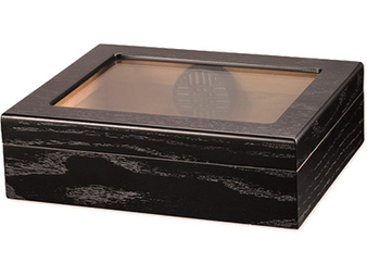 Humidor Traveler Glass Top