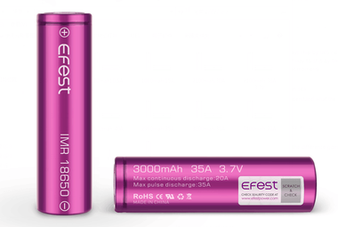 Efest Imr purple 35A 3000mah