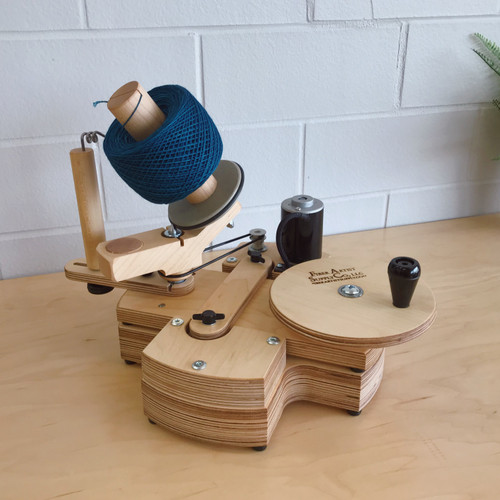 Maple Jumbo Yarn Ball Winder & Power Base Set (Allow 1-2 Weeks for Delivery)