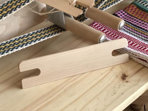 """Maple 7-1/2"""" Inkle Shuttle for Weaving Loom"""