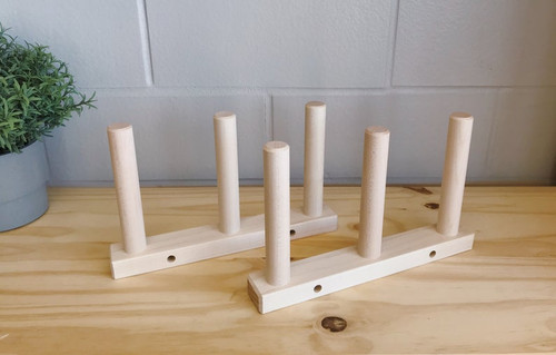 2x Triple Hard Maple Warping Pegs Set (NO CLAMPS INCLUDED)