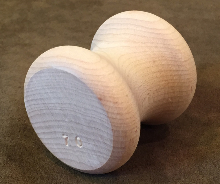 Individual 70 Gram Large Maple Beading Kumihimo Tama