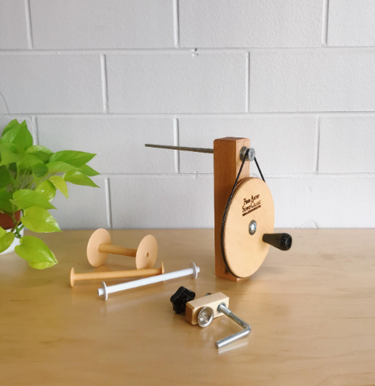 Hard Maple Weavers' Bobbin Winder