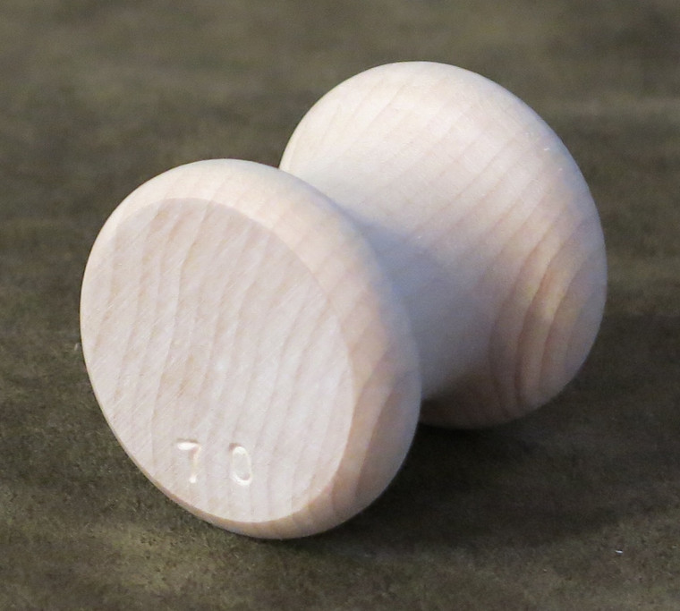 Individual 70 Gram Maple Traditional Kumihimo Tama