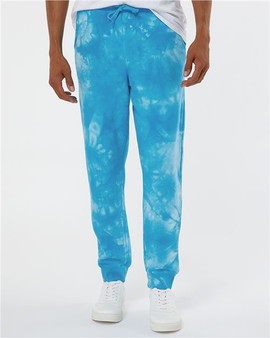 Tie-Dyed Fleece Pants Independent Trading Co.  PRM50PTTD