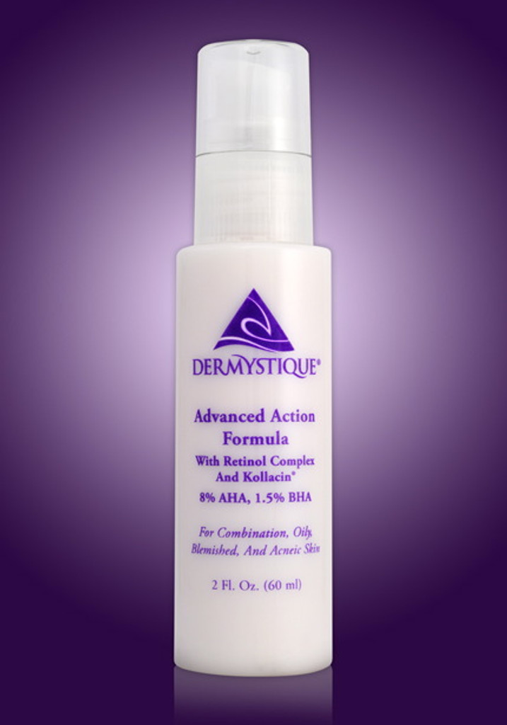 Advanced Action Formula with Retinol Complex and Kollacin®.  8% AHA, 1.5% BHA (2 Fl. Oz.)