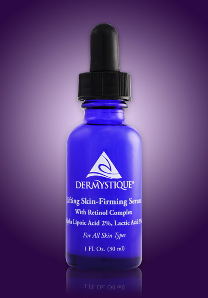 Lifting Skin-Firming Serum With Retinol Complex, Alpha Lipoic Acid 2%, Lactic Acid 5%.  For all Skin Types. (1 Fl. Oz.)