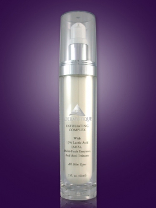 Exfoliating Complex with 10% Lactic Acid (AHA) and Multi-Fruit Enzymes (2 Fl. Oz.) [Catalog number PN]