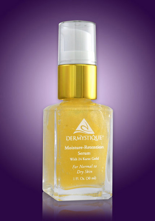 Moisture-Retention Serum with 24-Karat Gold (Skin Conditioning Serum) (1 Fl. Oz.) [Catalog number PE]