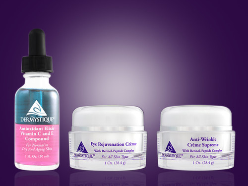 Anti-Aging, Anti-Wrinkle Kit for Dry Skin [Catalog number PS]