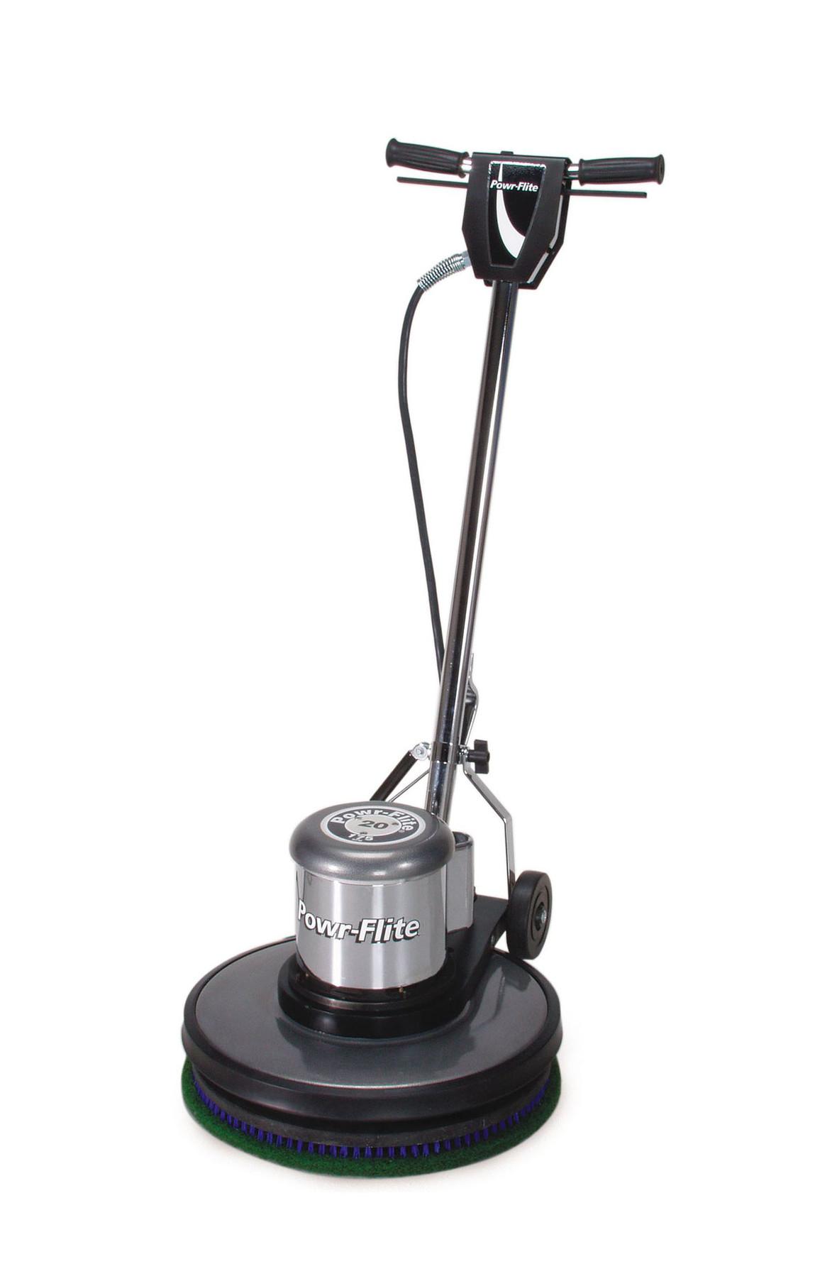 "Powr-Flite 20"" Classic Metal Floor Machine, 1.5 HP"